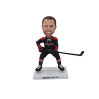 Custom Hockey Bobbleheads Jersey Can Be Changed As Per Your Request