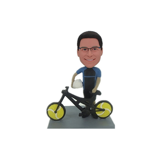 Customized Bicycle Bobbleheads