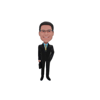 Business Man Custom Bobblehead Doll