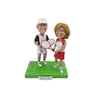 Wedding Bobbleheads Badminton Couple