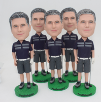 Custom Golf Bobble Head Bulk Order