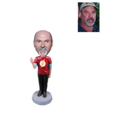 Custom Flash Bobbleheads