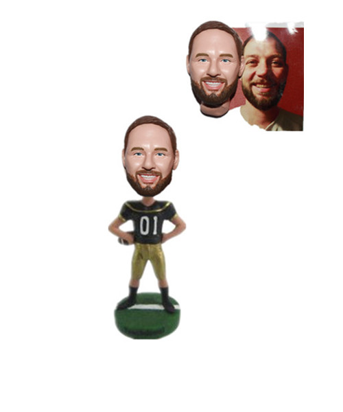 Football Bobble Head Custom From Photo