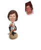 Female Boss Gift Custom Bobblehead Chiristmas Gift