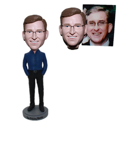 Custom Bobble Head Gift for Groomsman