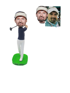 Custom Bobble Head Golfer