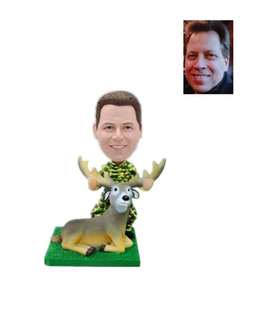 Deer Hunter Custom Bobblehead