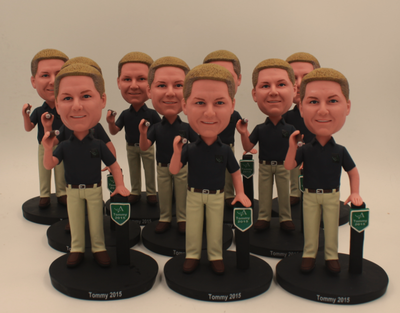 Custom Gift for Boss Bulk Order Bobbleheads Man Holding A Cigar