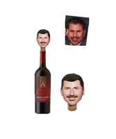 Custom Wine Stopper Bobble Head Wine Promotional Gift