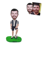 Custom Bobblehead From Photo Soccer under Foot