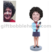 Female Teacher Custom Bobble Head Teachers' Day Gift