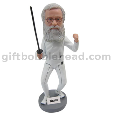 Fancing Bobblehead Custom From Photo