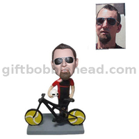 Bike Rider Custom Bobblehead New Year Gift