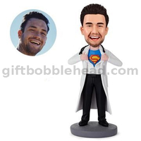 Super Doctor Custom Bobble Head Gift for Doctor